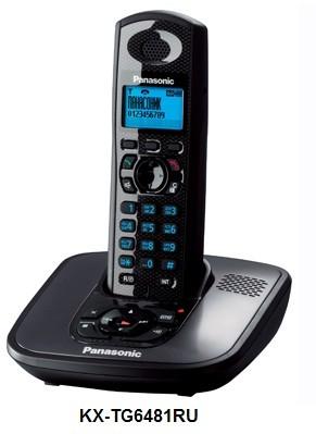 KX-TG6481RU: супер-DECT-телефон от Sony