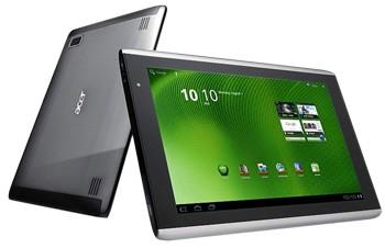 Планшетник Acer Iconia Tab A500 на Андроид 3.0 от $449