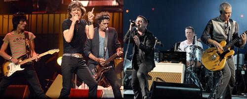 Экскурсионный тур U2 избил достижения знаменитых The Rolling Stones