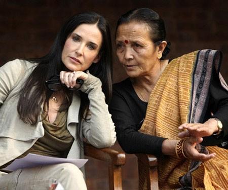 Деми Мур сражается против сексуального рабства