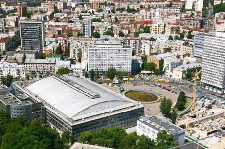 Киевский Дворец спорта раскрыт после перестройки