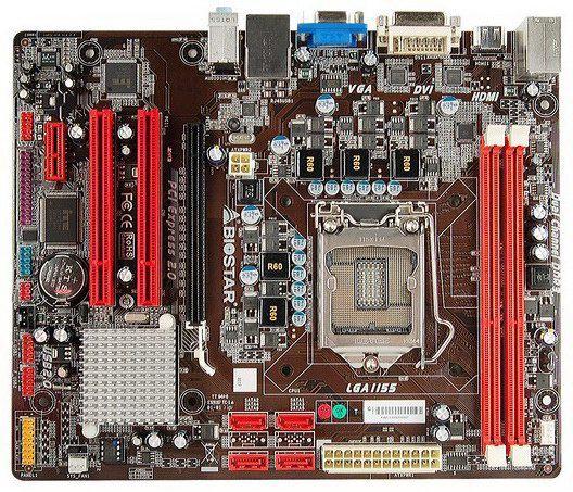 H61MH: материнка для новых Intel LGA1155 от Biostar