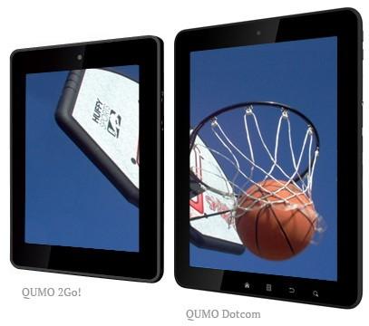 2Go! и Dotcom: интернет-планшеты на Андроид от QUMO (ФОТО)