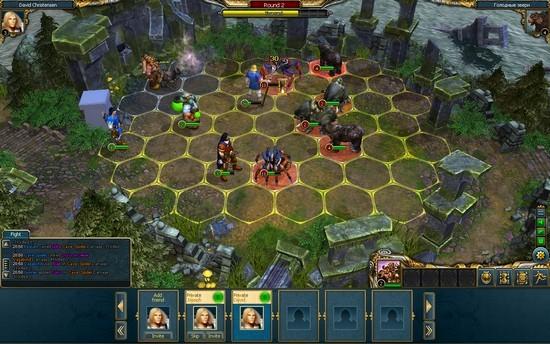 Анонс King'с Bounty: Legions для Фейсбук, iOS и Андроид