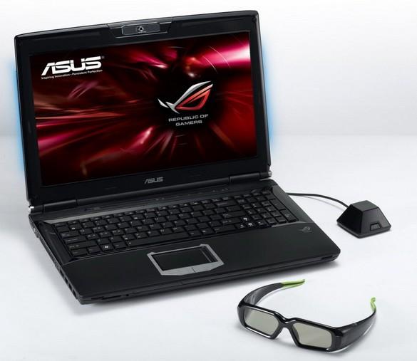 ASUS ROG G74Sx 3D: 3D-ноутбук для игроков в компьютерные игры