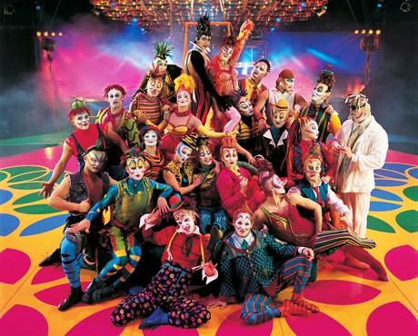 Знаменитая цирковая группа Cirque du Soleil едет в Киев