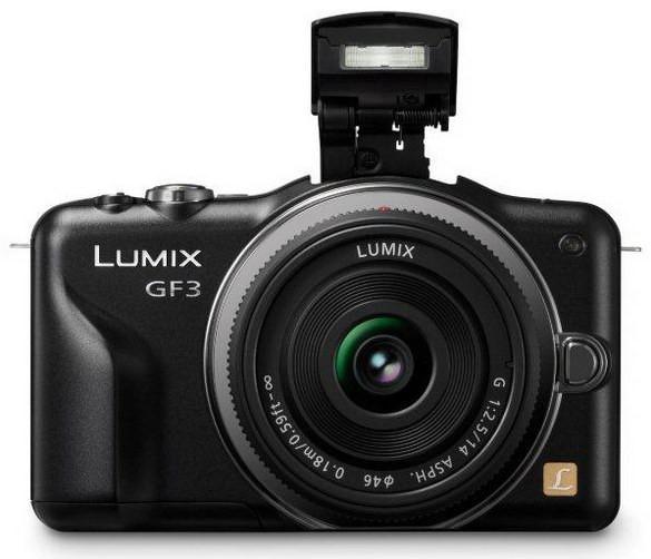 Lumix DMC-GF3: малогабаритная и лёгкая системная камера во всем мире