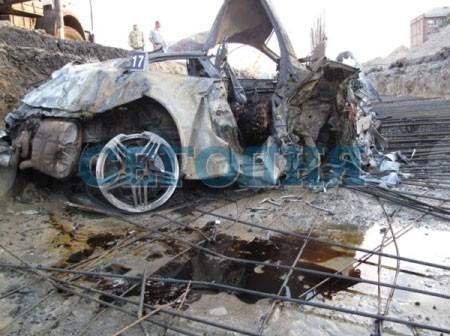 Страшная катастрофа в Киеве:парламентарий Тигипко сгорел живьем в автомобиле