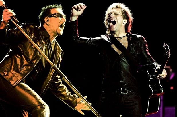 U2 снова возглавили перечень наиболее состоятельных артистов