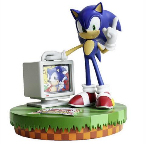 Sega выпустит торжественные фигуры ежика Акустика