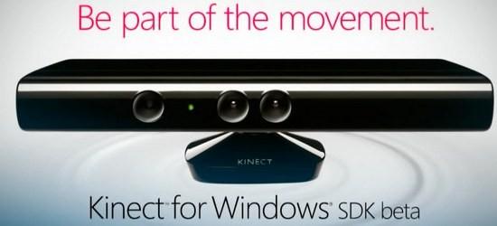 Майкрософт совершенно бесплатно сообщила Kinect for Виндоус SDK