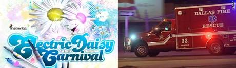 На фестивале в Далласе отправлены в больницу сотни гостей