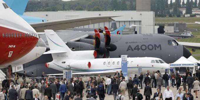 ФОТО: 49-й аэрокосмический зал Paris Эйр Show-2011