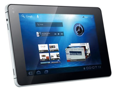 Huawei продемонстрировала планшетник MediaPad на Андроид 3.2