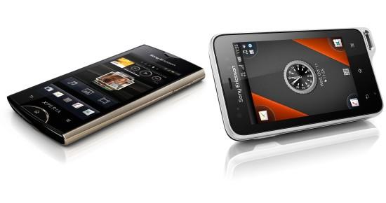 Xperia Рэй и Xperia Актив: свежих Android-фоны Сони Эриксон