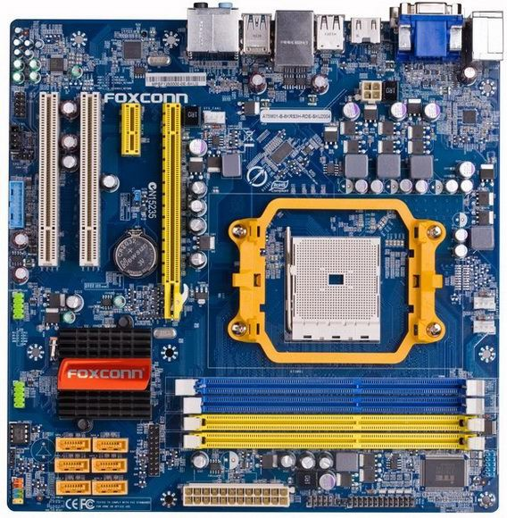 Foxconn А75М: системные платы на AMD Hudson D3 с AMD Llano