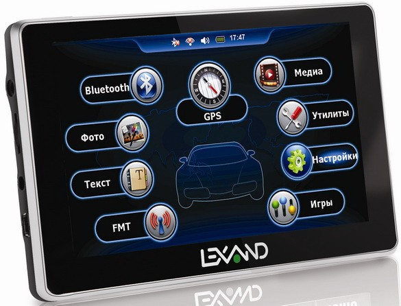 Lexand: свежие модификации трёх серий GPS-навигаторов