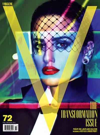 «Живая» Пенелопа Крус встала на обложке V Magazine (ФОТО)