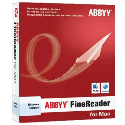 FineReader Экспресс Edition for Mac: отныне и с OS X Lion
