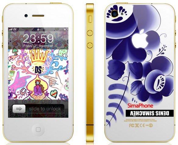 ФОТО: SimaPhone 4 Gzhel либо Айфон по-российски
