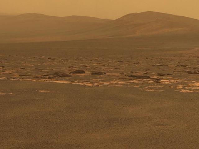 Марсоход Opportunity за 3 года добился инопланетного кратера