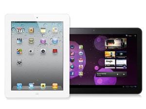 «Самсунг» объявила, что сделала Галакси Tab выше из-за iPod