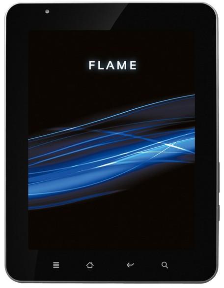 """QUMO продемонстрировала собственный 8"""" планшетник Flame с 3G"""