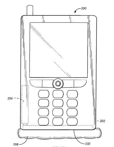 Малые подушки безопасности для мобильного телефона