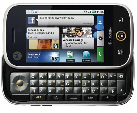 Motorola не будет производить телефонные аппараты на WP7 из-за Google