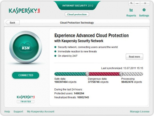 Вышли Kaspersky Internet Security 2012 и Antivirus 2012