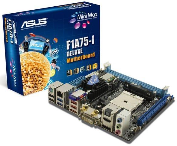 ASUS F1A75-I DELUXE: mini-ITX  стала еще увлекательнее