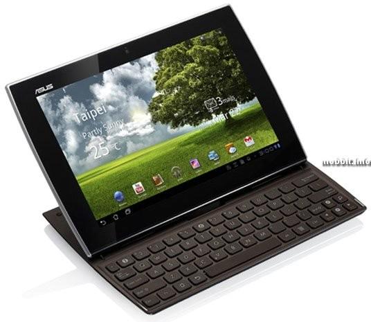 Eee Pad Slider: планшет-слайдер с клавиатурой на Андроид