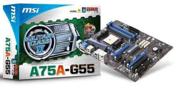 MSI A75A-G55: материнка для Llano на AMD Hudson D3
