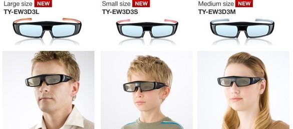 Наиболее легкие и бесцветные 3D-очки