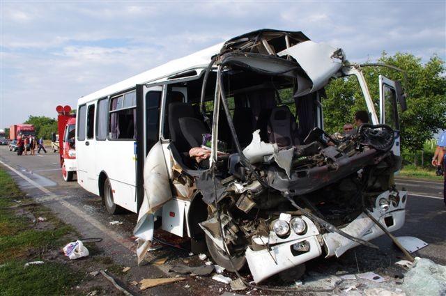 В ДТП под Одессой количество потерпевших дошло до 20 человек