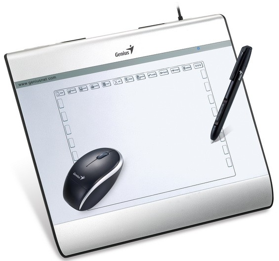 MousePen i608X: графический планшетник с мышкой