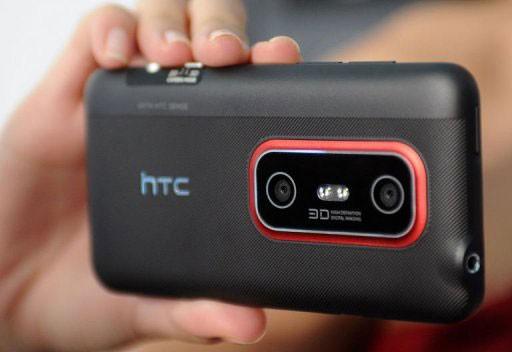 3D-смартфон HTC Evo 3D официально представлен