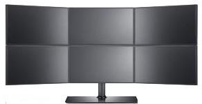 настольные многоэкранные экраны «Самсунг» серии MD доступны