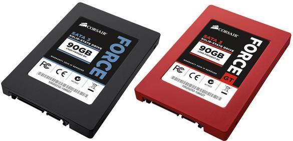 Corsair Force Серии 3: подходящие скоростные 90 Гигабайт SSD