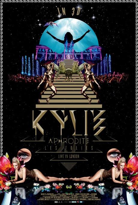 Кайли Миноуг выпустит концертный 3D-фильм на CD