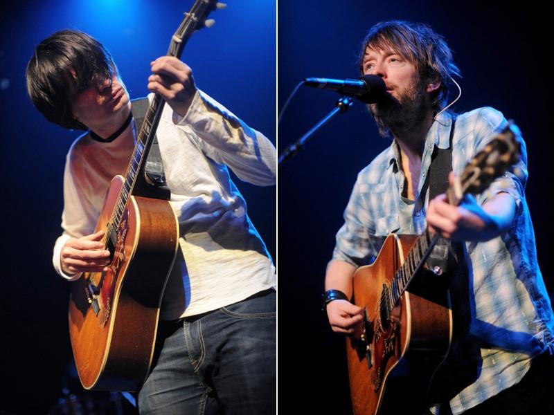 Radiohead отправятся в экскурсионный тур в 2012 г., Том Йорк дописывает альбом