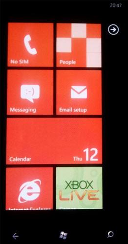 ФОТО: HTC Mozart - анализ первого смарта на Виндоус Phone 7