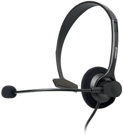 mediana Stereo Headset HS-182: VoIP моно-гарнитура