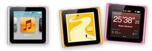Эпл представила iPod touch светлого тона