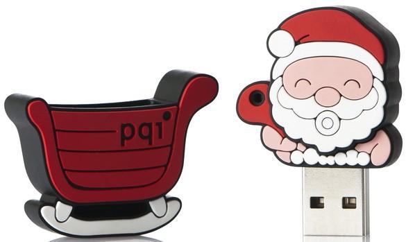 Santa Claus U827 Travel Disk: сложная автодорожная флеш-карта