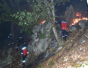 В Крыму как и прежде неистовствуют пожары