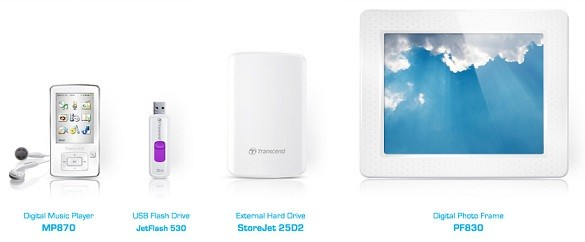 Transcend представила «белую коллекцию» в стиле Apple Mac