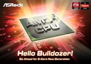 Системник ASRock для AMD отныне сохраняют AM3+ Bulldozer