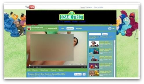 """Канал """"Улицы Сезам"""" на YouTube закрыт из-за появления порно"""