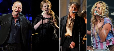 Ke$ha и Adele спели на трибьют-альбоме Боба Дилана